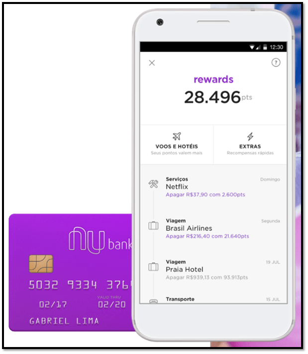 nubank rewards app
